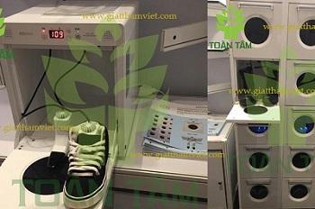 máy giặt giày tia UV